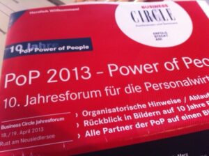 PoP 2013 - Power of People