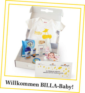 BILLA Babybox