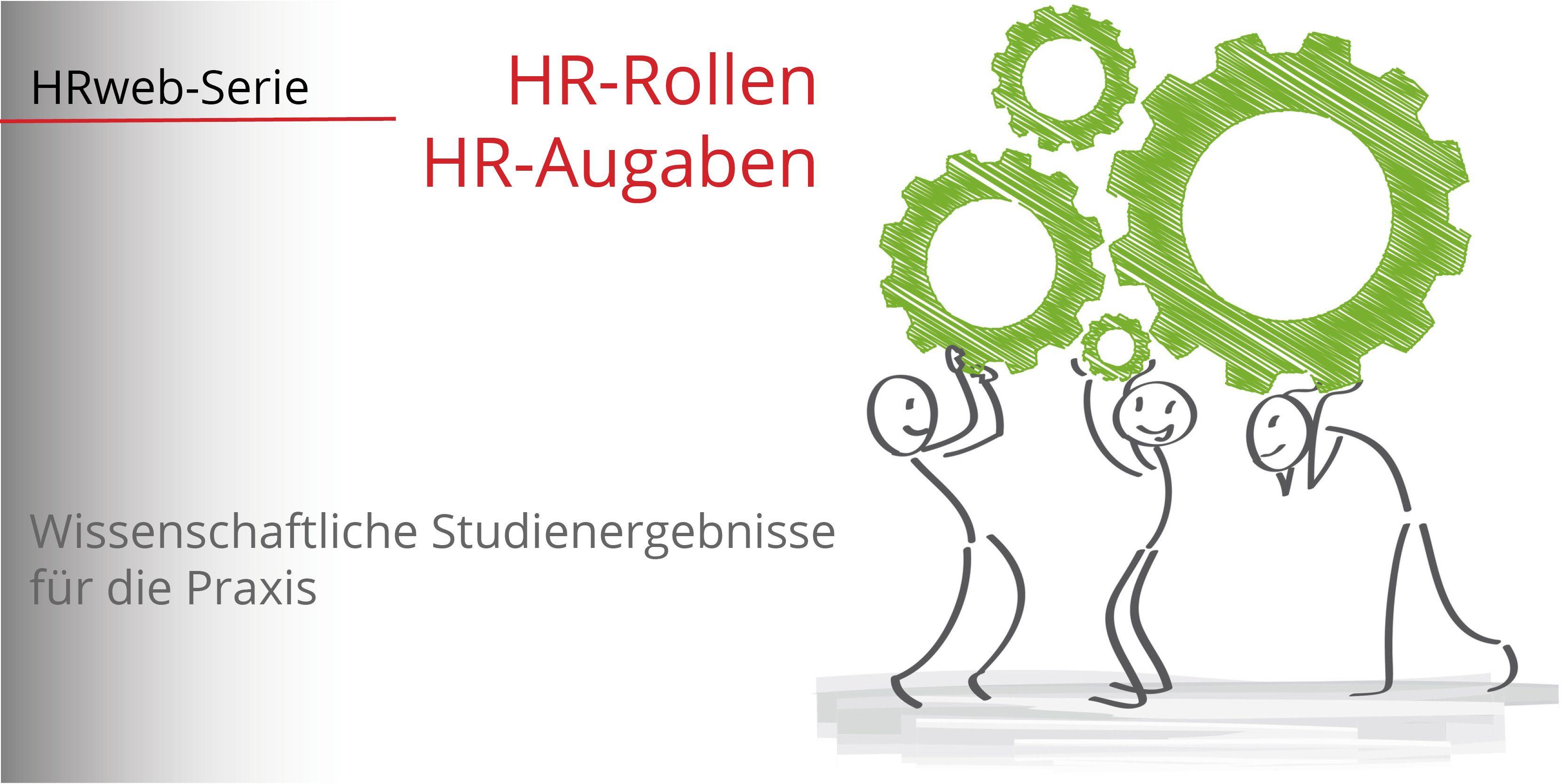 Studie: HR-Rollen in D-A-CH | HR als Alleskönner!? - HRweb